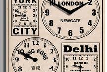 World Time Clocks / Clocks that make the world go round !!! www.justforclocks.com