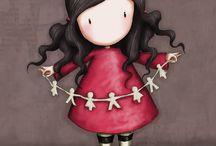 Ilustraciones / Dibujo de muñeca