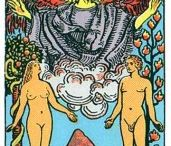 6 - The Lovers tarot card / Card about love and choice