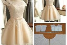 Moldes para vestido