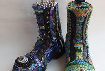 Mosaic shoes