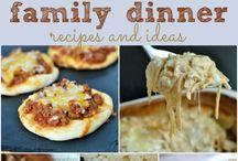 Family dinner recipes