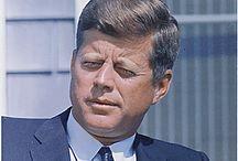 JFK Assassination / John F. Kennedy's assassination in Dallas November 22, 1963 / by Bob Steele