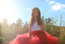 Tulle Skirts / Tulle skirts for event, shows, fashion, budoir photos