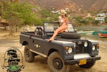 land rover defender girls