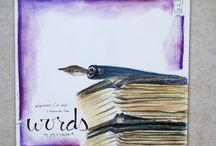 art journaling / by Marsha Asmus Friou