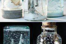 Cristal decoración navidad