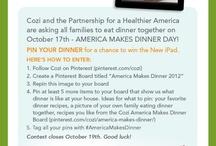 America Makes Dinner 2012