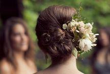 menyasszony / ruha, haj...