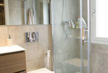Baños reformados sin obras