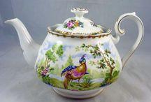 Royal Albert Chelsea Bird collections