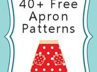 Patterns Aprons