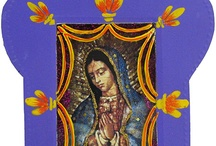 Religious Folk Art from Mexico / Traditional Mexican Nichos -- Wooden Crosses -- Talavera Crosses -- Metal Crosses -- Tin & Glass Nichos -- Handcarved Religious Art -- Made in Mexico   http://www.lafuente.com/Mexican-Art/Religious-Folk-Art/