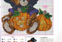 Cross Stitch Halloween