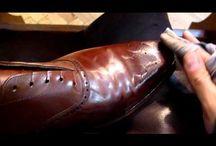 Shoes polishing