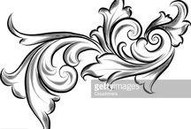filagree background
