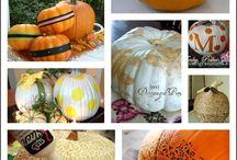 Тыквы  Декор | pumpkin decoration
