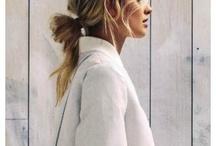 Perfect blond hair