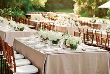 Outdoor Wedding / Outdoor weddings and garden parties are a great way to enjoy the great outdoors. Celebrate with your friends and family at a special rustic outdoor wedding lit by lanterns and lights.