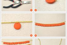 Diy beads necklece / by Roula Hor