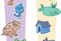 Montessori Pet Theme Trays