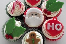 christmas cupcakes and other goodies / Christmas baking