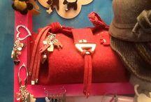 Borse in feltro / Borse in feltro di pura lana realizzate a mano