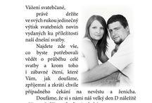 Noviny svatební