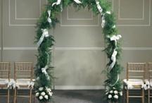 Wedding Arch / Decorating ideas for church wedding. / by Wedding Flowers, Inc.