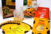 Kampania sera salami Serenada / Nie wyobrażasz sobie śniadania bez żółtego sera? My też! Tej wiosny na Twoim stole będzie królować ser Salami Serenada!