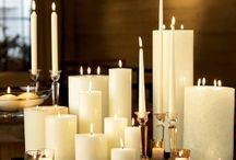 Candles, candles, and more candles / by Lainie Miller