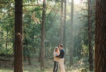 Engagement shots / Beautiful engagement shots - Romantic wedding photos