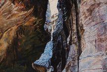 Oil painting-Dozorca Mikro Parku / Sztuka