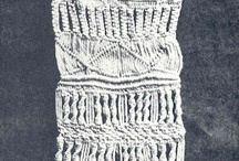 Macramé / Macramé or macrame is a form of textile-making using knotting rather than weaving or knitting.