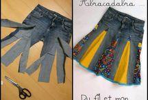polleras de jean