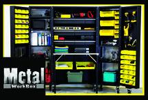 Garage/Hobby Storage / by The Original ScrapBox - Scrapbooking storage