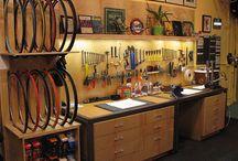 bicycle workshop ideas