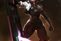 Power armor en wapens