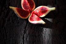 Pomegranate/ figs/ garlic