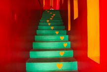 Stairways in Mexico / Going up or down, it's all beautiful