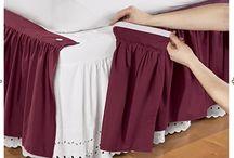 Faldas de camas y cortinas