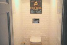 Интерьер туалета, и ванной