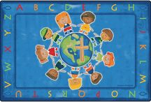 Faith Based Kids Rugs New 2014 / Faith based childrens rugs for sunday school, church children's ministry, vacation bible school, & christian kids childcare.