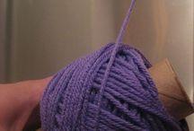 centre pull yarn ball