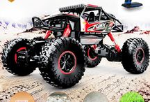 Remote Control RC Monster Truck Car Electric  OFFRoad Racing 4WD Buggy Toy Gift