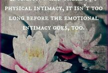 Physical intimacy