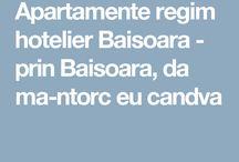 Apartamente regim hotelier Baisoara