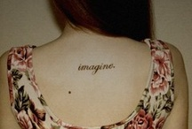 Tattoos / by Christine Gregorc