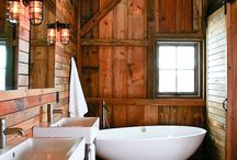 Bath & Powder Rooms / Commercial & residential bath and/or powder rooms that inspire