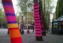 Textiles... Yarn Bombing